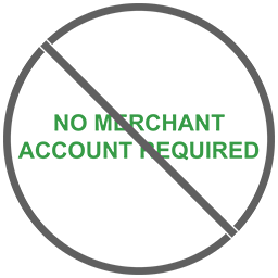 No merchant account